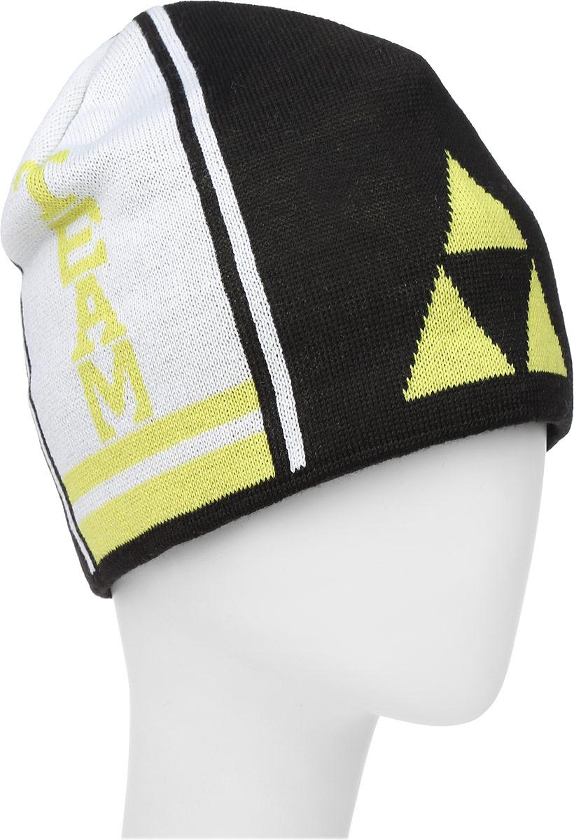 Шапочка лыжная Fischer  Team , цвет: черный, желтый, белый - Аксессуары для зимних видов спорта