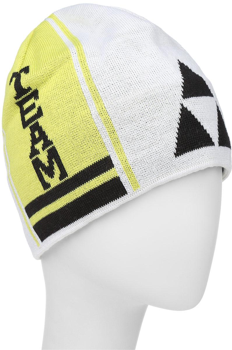 Шапочка лыжная Fischer  Team , цвет: белый, черный, желтый - Аксессуары для зимних видов спорта