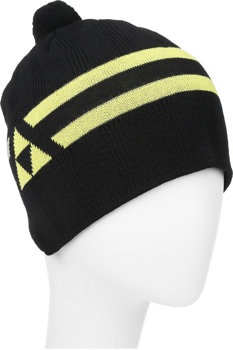 Шапочка лыжная Fischer  Polar , цвет: черный, желтый. Размер S/M - Аксессуары для зимних видов спорта