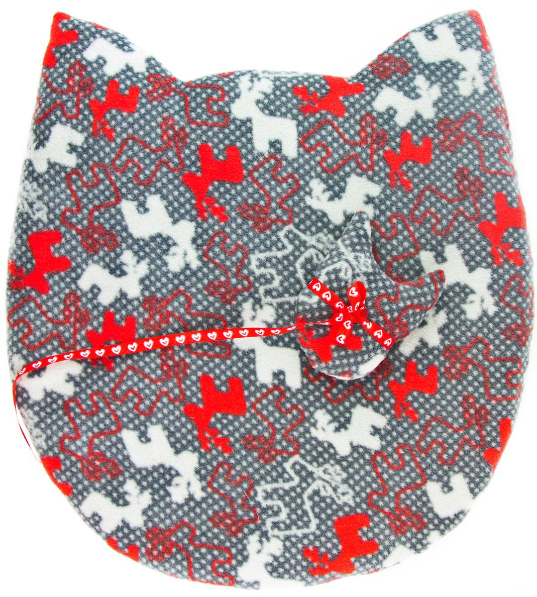 Лежак-коврик для животных Zoobaloo Мордашка. Олени, с игрушкой, 45 х 50 см0120710Великолепный флисовый лежак-коврик Zoobaloo - это отличный аксессуар для вашего питомца, на котором можно спать, играться и снова, приятно устав, заснуть. Он идеально подходит для полов с любым покрытием. Изделиеподдерживает температурный баланс вашего питомца в любоевремя года. Наполнитель выполнен из синтепона.