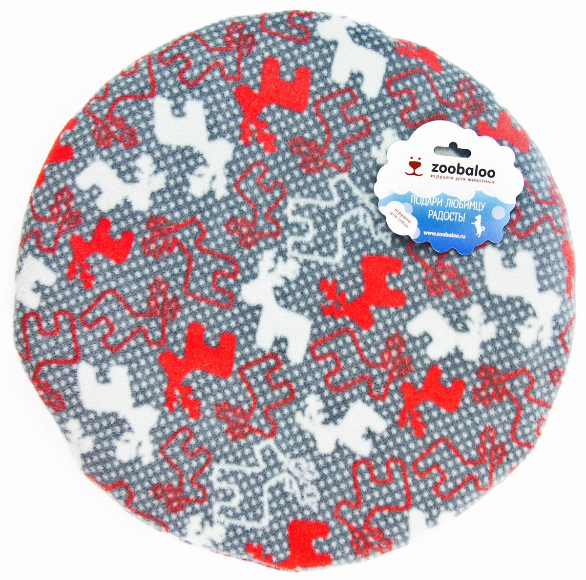 Лежак-коврик для животных Zoobaloo Олени, 50 х 50 см626RВеликолепный флисовый лежак-коврик Zoobaloo - это отличный аксессуар для вашего питомца, на котором можно спать, играться и снова, приятно устав, заснуть. Он идеально подходит для полов с любым покрытием. Изделиеподдерживает температурный баланс вашего питомца в любоевремя года. Наполнитель выполнен из синтепона.