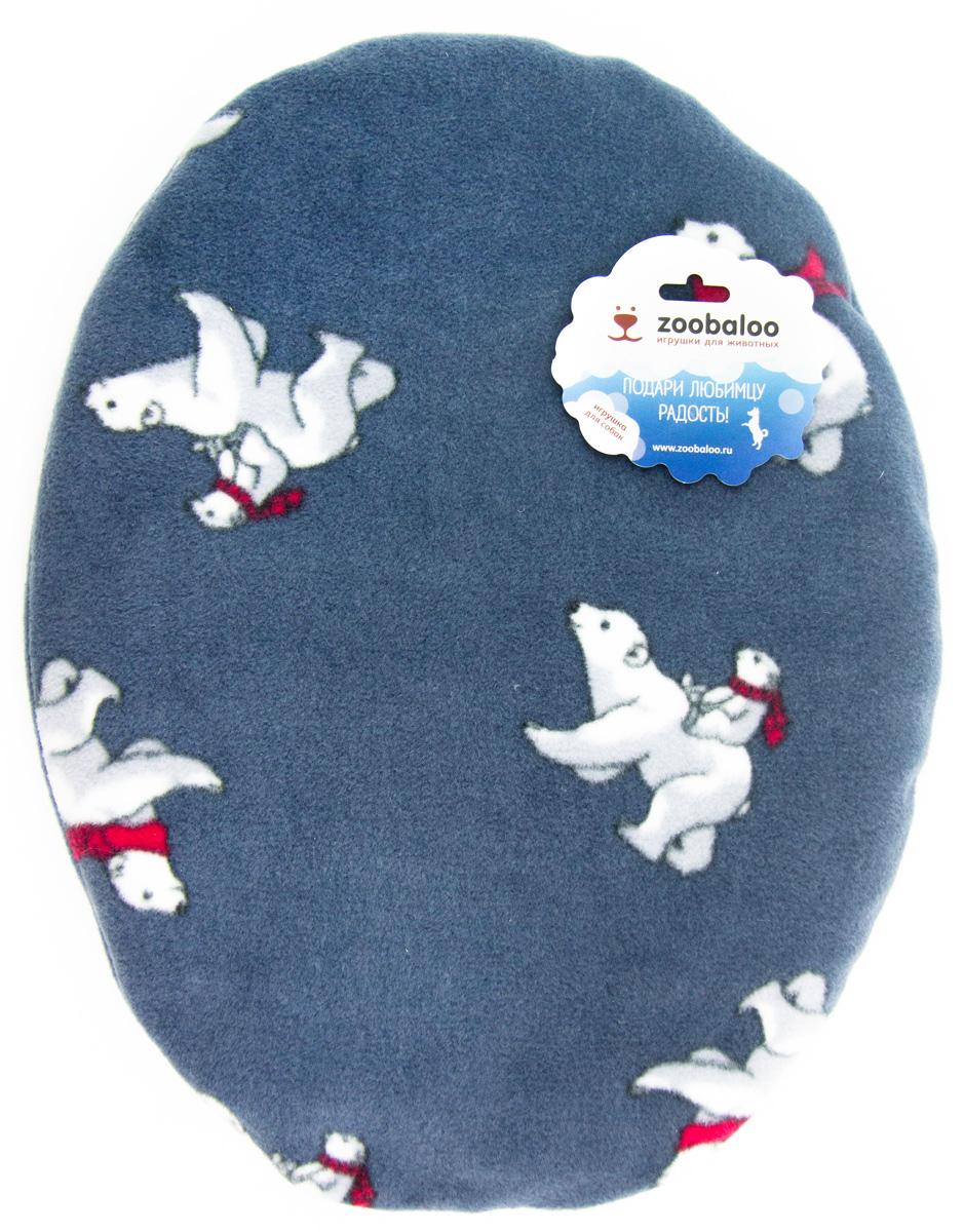 Лежак-коврик для животных Zoobaloo Мишки, 65 х 55 см0120710Великолепный флисовый лежак-коврик Zoobaloo - это отличный аксессуар для вашего питомца, на котором можно спать, играться и снова, приятно устав, заснуть. Он идеально подходит для полов с любым покрытием. Изделиеподдерживает температурный баланс вашего питомца в любоевремя года. Наполнитель выполнен из синтепона.