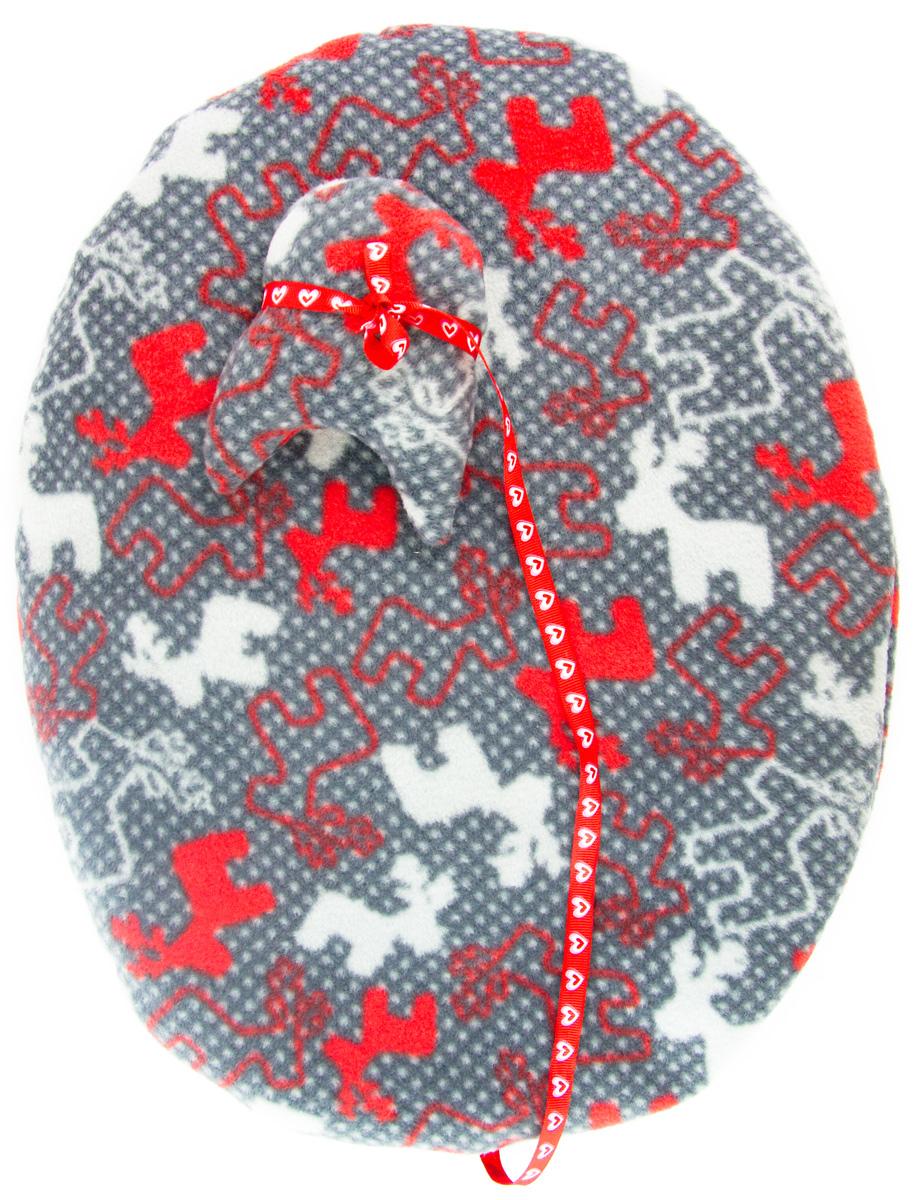 Лежак-коврик для животных Zoobaloo Олени, с игрушкой, 65 х 55 см0120710Великолепный флисовый лежак-коврик Zoobaloo - это отличный аксессуар для вашего питомца, на котором можно спать, играться и снова, приятно устав, заснуть. Он идеально подходит для полов с любым покрытием. Изделиеподдерживает температурный баланс вашего питомца в любоевремя года. Наполнитель выполнен из синтепона.