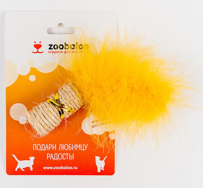 Игрушка для кошек Zoobaloo Когтеточка с марабу7140Игрушка Zoobaloo Когтеточка с марабу предназначена для кошек. Эта привлекательная когтеточка изготовлена из сизалевой ткани, украшена яркими перьями и позволит вам избежать появления царапин на мебели! Ваш питомец сможет затачивать когти без вреда интерьеру вашего дома. Кошачья мята делает игрушку отличным аксессуаром для самостоятельной игры.УВАЖАЕМЫЕ КЛИЕНТЫ! Обращаем ваше внимание на возможные изменения в цветовом дизайне.