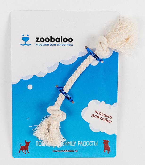 Грейфер для собак Zoobaloo, длина 17 см411Грейфер для собак мелких пород Zoobaloo изготовлен из перекрученной хлопчатобумажной веревки и несомненно привлечет внимание вашей собаки. Традиционная игрушка для собак. Прочный и долговечный, абсолютно безопасный.