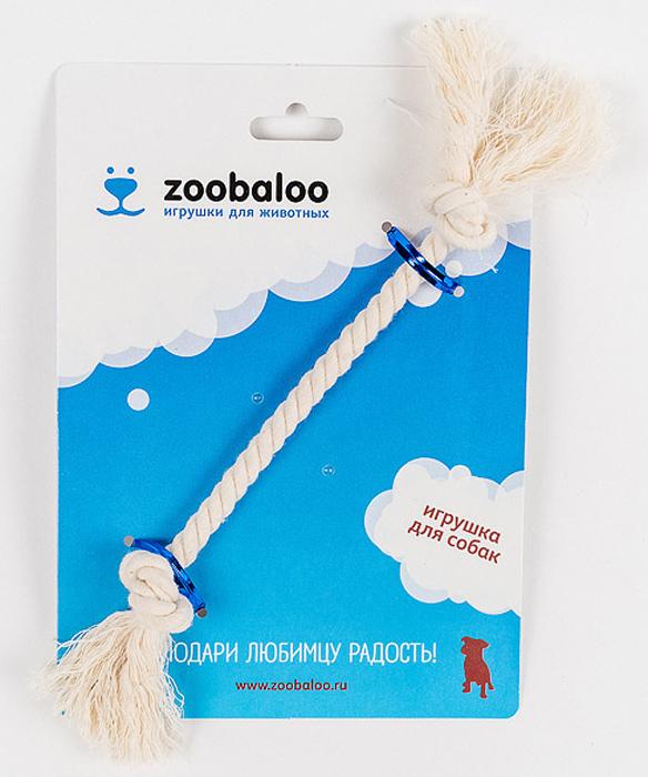 Грейфер для собак Zoobaloo, длина 21 см. 41227799317Грейфер для собак мелких пород Zoobaloo изготовлен из перекрученной хлопчатобумажной веревки и несомненно привлечет внимание вашей собаки. Традиционная игрушка для собак. Прочный и долговечный, абсолютно безопасный.