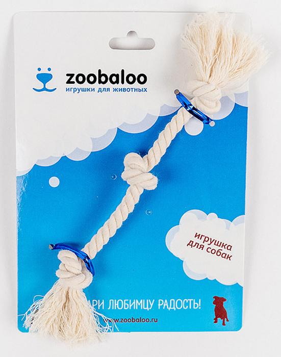 Грейфер для собак Zoobaloo, длина 21 см0120710Классическая игрушка для собак Zoobaloo изготовлена из хлопка высшего качества. Натуральная веревка помогает очистить зубы собаки от налета и зубного камня и поддерживать гигиену полости рта. Ее можно жевать, бросать и приносить. Море радости и азарта обеспечено!