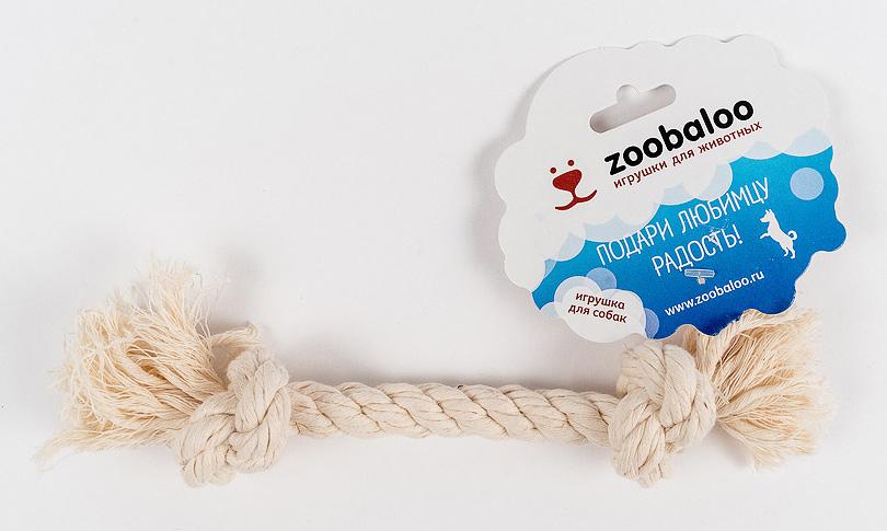 Грейфер для собак Zoobaloo, длина 20 см0120710Классическая игрушка для собак Zoobaloo изготовлена из хлопка высшего качества. Натуральная веревка помогает очистить зубы собаки от налета и зубного камня и поддерживать гигиену полости рта. Ее можно жевать, бросать и приносить. Море радости и азарта обеспечено!