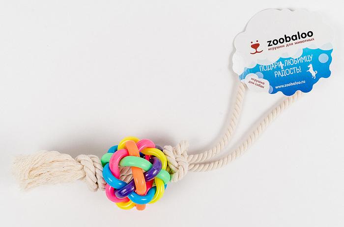 Игрушка для собак Zoobaloo Мяч. 422 игрушка для кошки плюшевый мяч с бубенчиком с кошачьей мятой zoobaloo