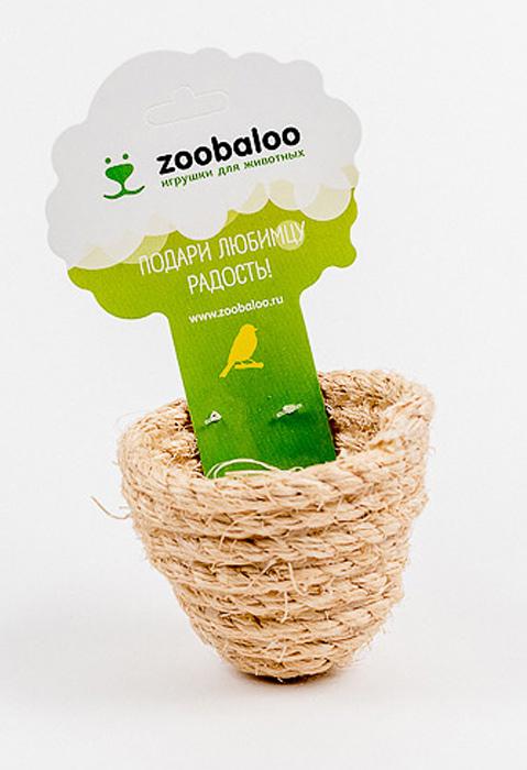 Игрушка для птиц Zoobaloo Гнездо объемное. 5670120710Благодаря полностью натуральному плетению игрушка Zoobaloo Гнездо объемное выгодно отличается от остальных гнезд. Такая игрушка не даст скучать вашему питомцу.