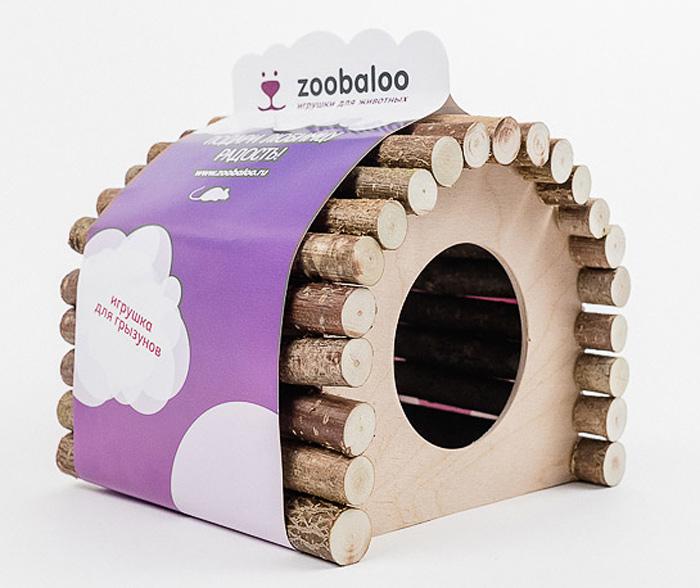 Домик для грызунов Zoobaloo Овал, 15 х 12 х 16 см0120710Комфортный деревянный домик Zoobaloo послужит надежным укрытием вашему любимцу, а также идеальным местом для сна и отдыха! Домик весьма просторный, имеет оригинальную овальную крышу, изготовленную из прутьев орешника, и удобный круглый вход. Этот аксессуар предоставит вашему любимцу минуты отдыха в течение дня. Домик позволит вашему грызуну ощутить максимальный комфорт и уют!