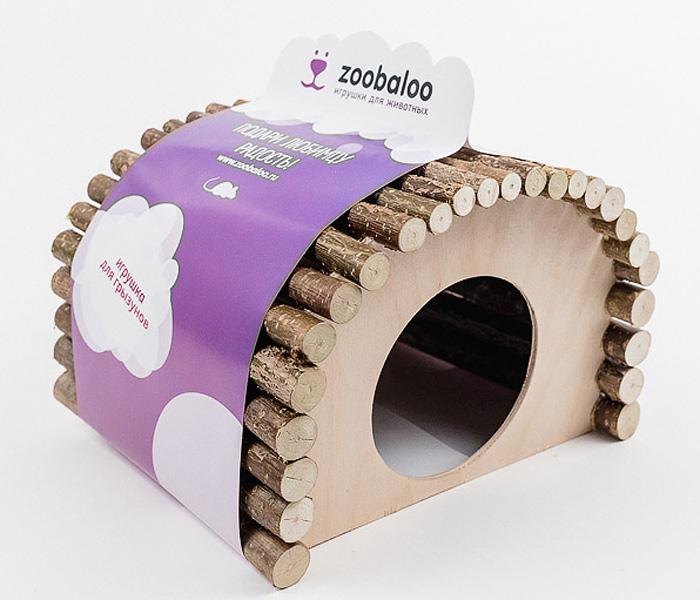 Домик для грызунов Zoobaloo Овал, 23 х 15 х 17 см0120710Комфортный деревянный домик Zoobaloo послужит надежным укрытием вашему любимцу, а также идеальным местом для сна и отдыха! Домик весьма просторный, имеет оригинальную овальную крышу, изготовленную из прутьев орешника, и удобный круглый вход. Этот аксессуар предоставит вашему любимцу минуты отдыха в течение дня. Домик позволит вашему грызуну ощутить максимальный комфорт и уют!