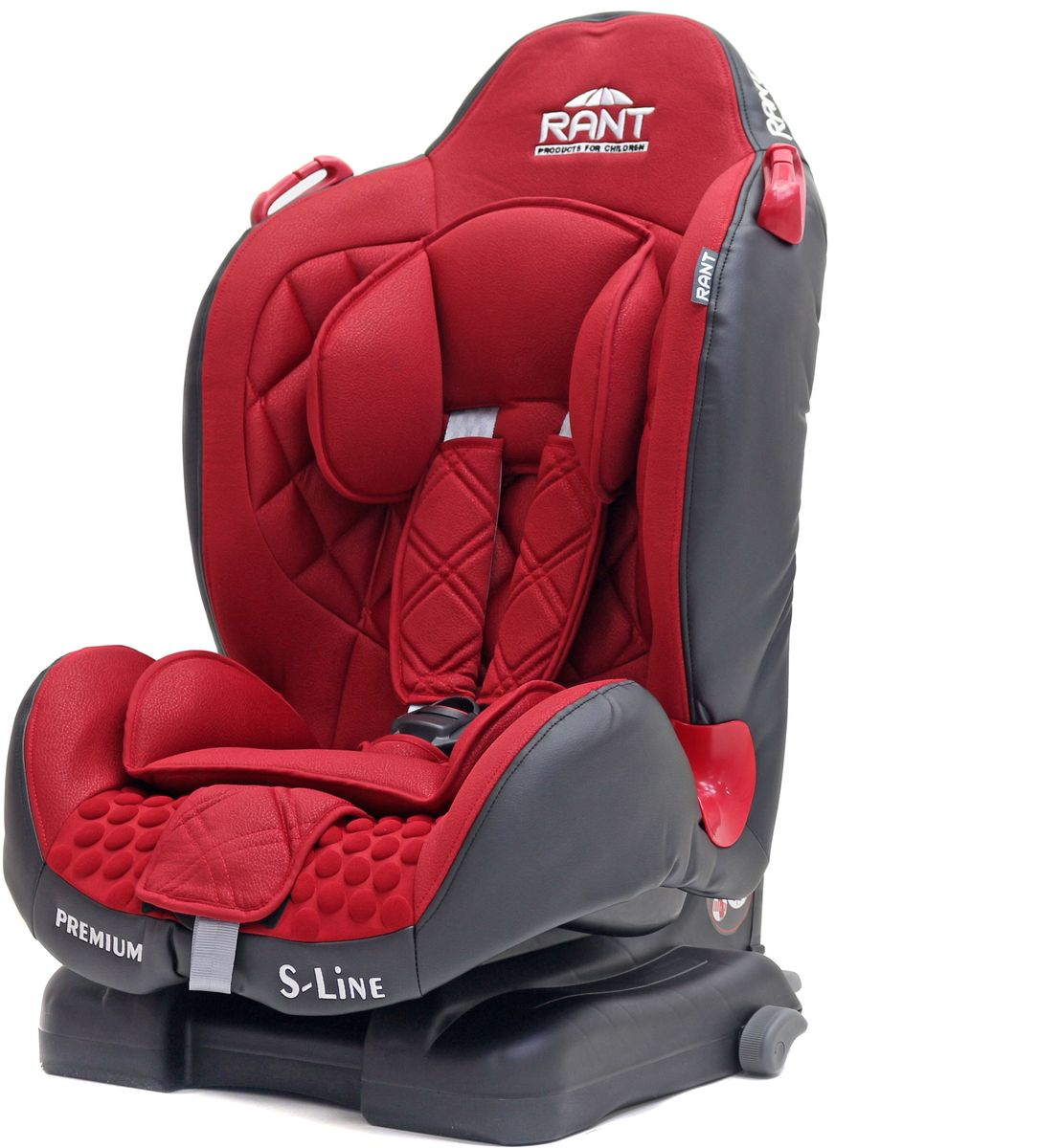 Rant Автокресло Premium Isofix цвет красный от 9 до 25 кг автокресло rant cowboy isofix 9 36 кг purple