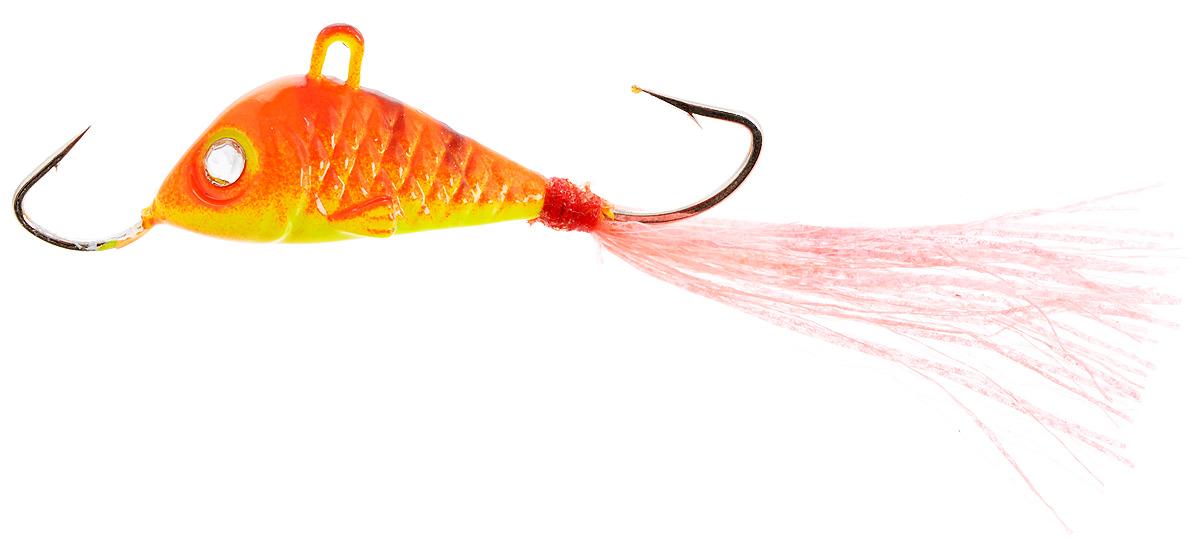 Балансир Finnex, длина 3,5 см, вес 5 г. BLR1-RET59400Балансир Finnex имеет светящийся хвостик, который поможет приманить рыбу на глубине в несколько метров. Форма этого балансира напоминает мелкую рыбку. Балансир оснащен блестящим глазком, что делает его более заметным и позволяет привлечь рыбу с более дальнего расстояния. Изделие изготовлено из прочного свинцового сплава с элементами пластика.