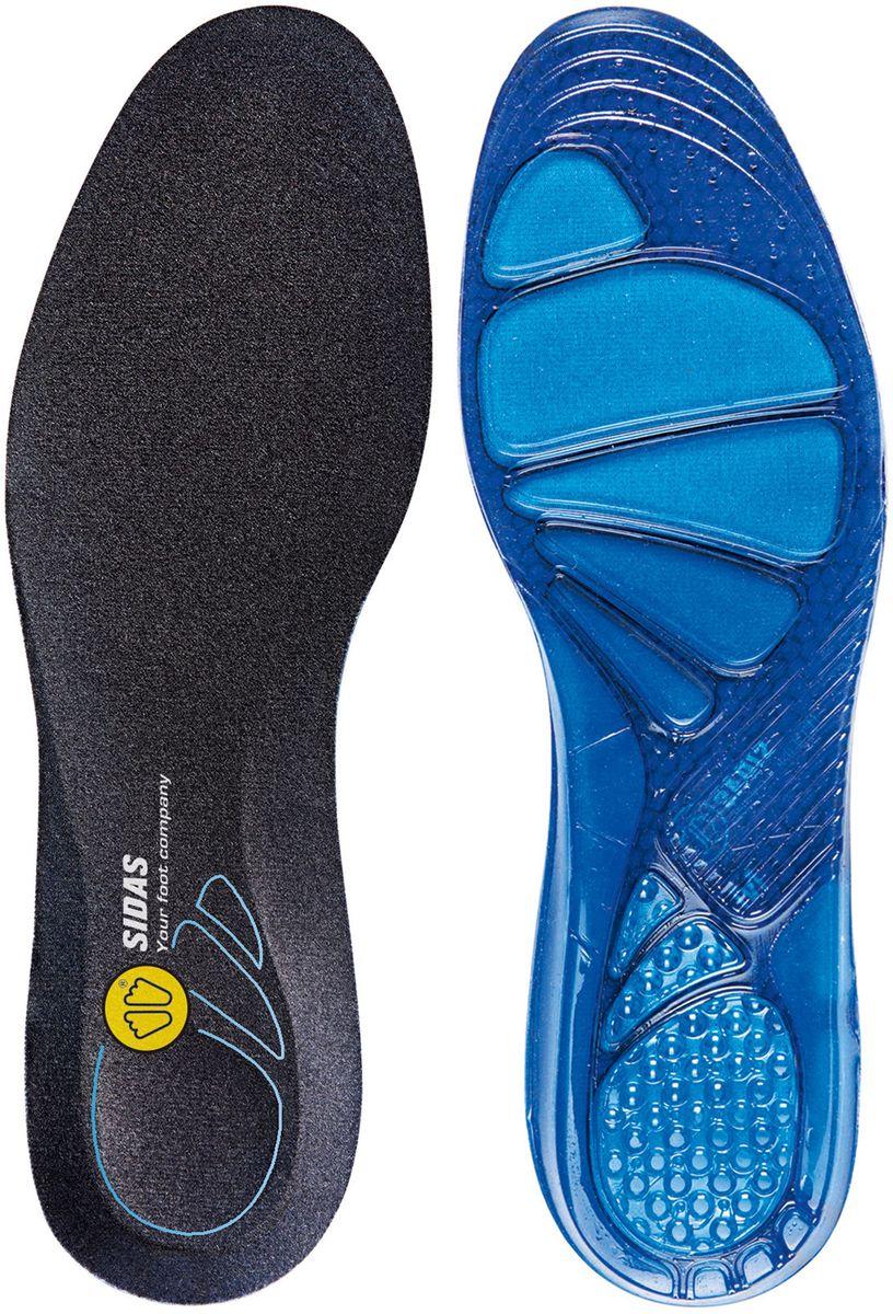 Стельки Sidas Cushioning Gel. Размер S15032030Мягкая и комфортная гелевая стелька!Идеально подходит для ежедневного использования в любом типе обуви.Снижает ударную нагрузку при ходьбе, разгружает коленные и тазобедренный суставы. За счет специального верхнего слоя, обладает антибактериальным эффектом, легко стирается.Превратит Вашу обувь в комфортные домашние тапочки! Специальная конструкция из уникального материала Dynamic gel-для достижения максимальной мягкости и комфорта.