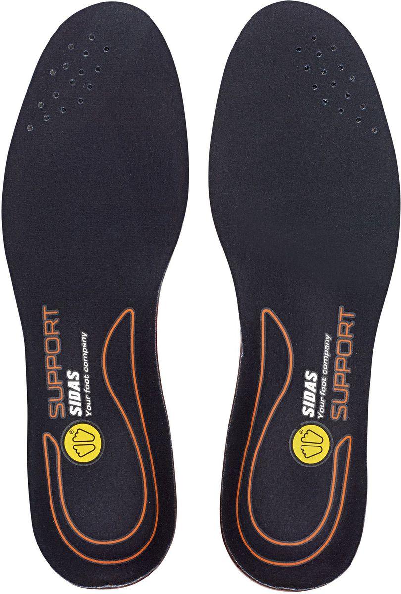 Стельки Sidas Cushioning Gel Support, гелевые с поддержкой. Размер XLCSEESCUSHSUPPМягкие и комфортные гелевые стельки Sidas Cushioning Gel Support идеально подходят для ежедневного использования в любом типе обуви. За счет специальной конструкции обеспечивают стабилизацию пятки и поддержку арочного свода стопы. Они снижают ударную нагрузку при ходьбе, разгружают коленные и тазобедренный суставы. Множество микроячеек, расположенных в зоне ударной нагрузки, деформируясь при ударе, обеспечивают максимальную защиту. Стельки изготовлены из уникального материала Dynamic gel-для достижения максимальной мягкости и комфорта. Обладают антибактериальным эффектом и легко стираются. Такие стельки превратят вашу обувь в комфортные домашние тапочки.