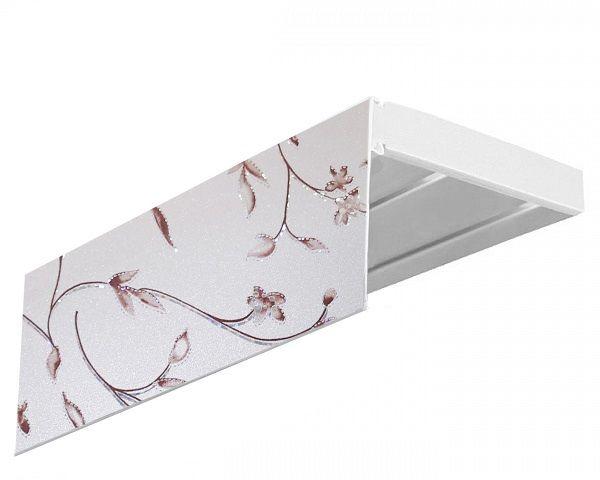 Багет Эскар Романтика, цвет: серебристый, 7 х 250 см
