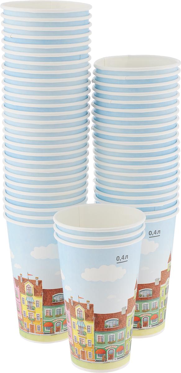 Набор одноразовых стаканов Huhtamaki Город, 400 мл, 50 штVT-1520(SR)Одноразовые стаканы Huhtamaki Город, изготовленные из плотной бумаги, предназначены для подачи горячих напитков. Вы можете взять их с собой на природу, в парк, на пикник и наслаждаться вкусными напитками. Несмотря на то, что стаканы бумажные, они очень прочные и не промокают. Диаметр (по верхнему краю): 9 см. Диаметр дна: 6 см.Высота: 13,5 см.