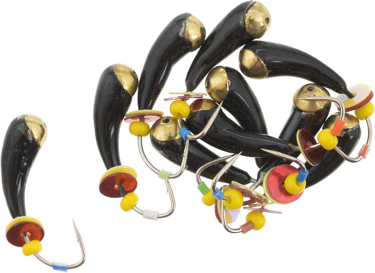 Мормышка вольфрамовая Dixxon Уралка, с отверстием, с бисером, диаметр 5 мм, 1,55 г, 10 шт. 59430010-01199-23Мормышка Dixxon Уралка изготовлена из вольфрама и оснащена крючком. Главное достоинство вольфрамовой мормышки - большой вес при малом объеме. Эта особенность дает большие преимущества при ловле, так как позволяет быстро погрузить приманку на требуемую глубину и лучше чувствовать игру мормышки. Подходит для подледной ловли.