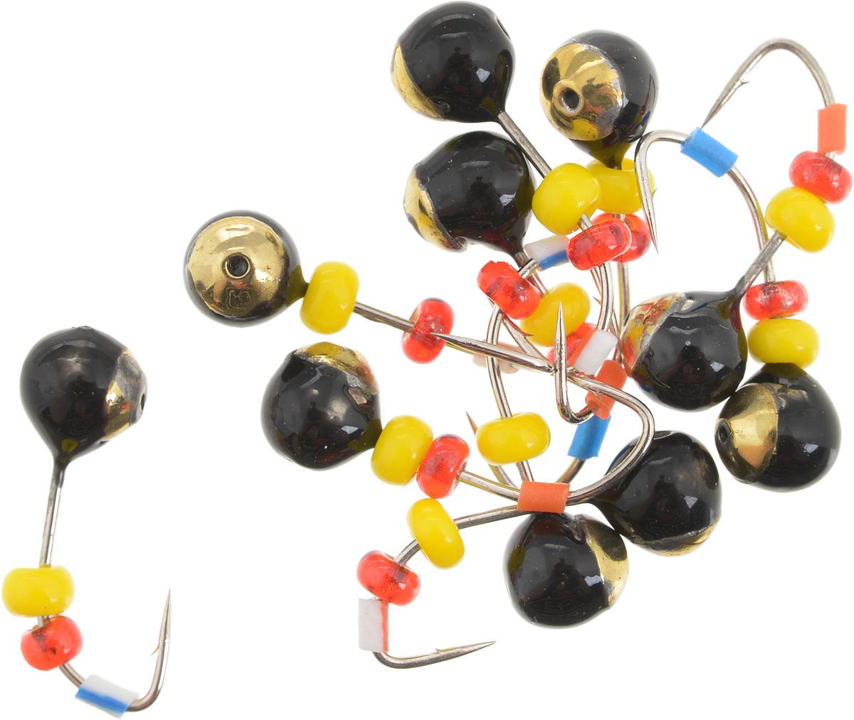 Мормышка вольфрамовая Dixxon Шар, с отверстием, с бисером, диаметр 3,5 мм, 0,55 г, 10 шт. 5940959409Мормышка Dixxon Шар изготовлена из вольфрама и оснащена крючком. Главное достоинство вольфрамовой мормышки - большой вес при малом объеме. Эта особенность дает большие преимущества при ловле, так как позволяет быстро погрузить приманку на требуемую глубину и лучше чувствовать игру мормышки. Подходит для подледной ловли.