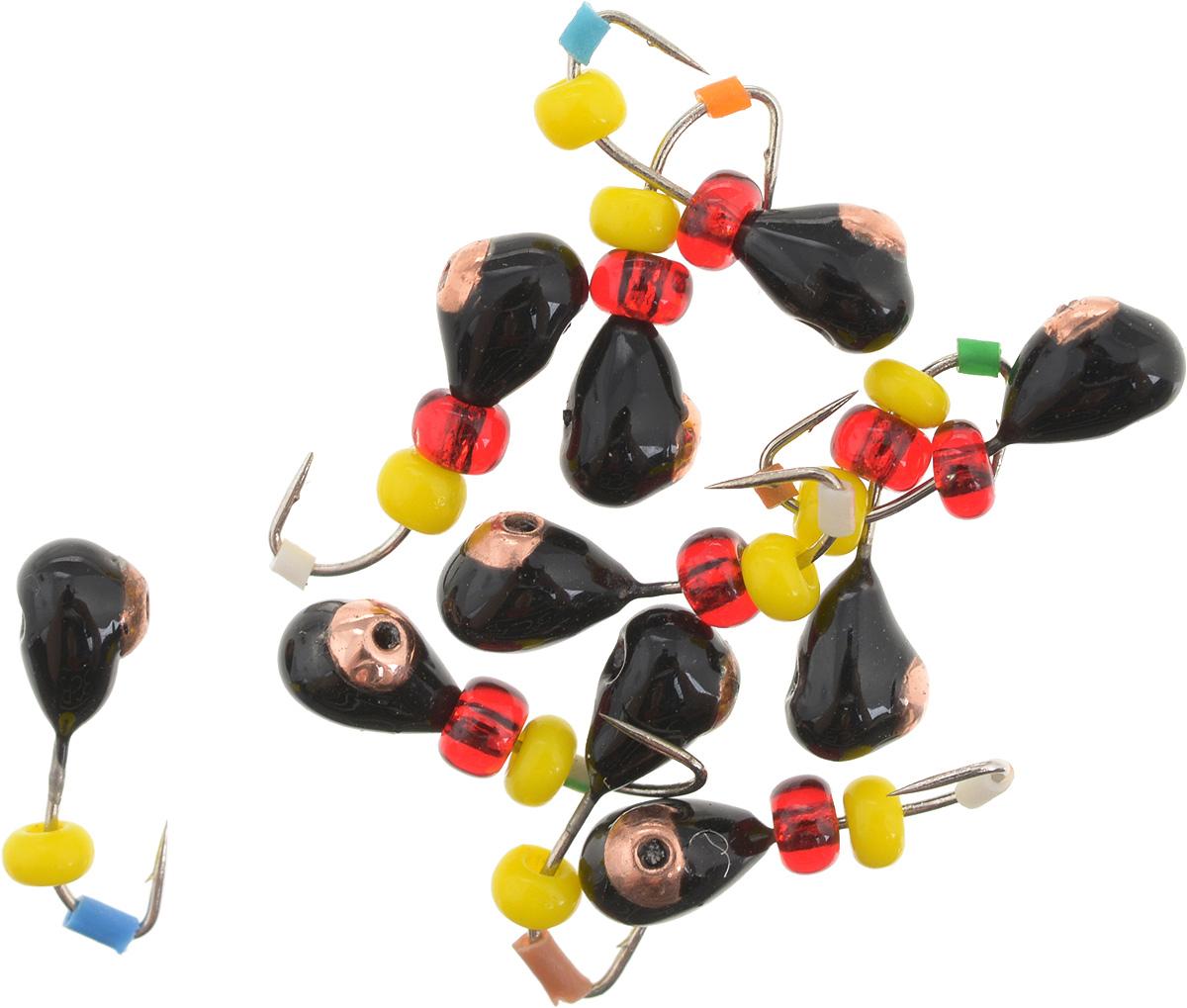Мормышка вольфрамовая Dixxon Капля, с отверстием, с бисером, диаметр 3 мм, 0,45 г, 10 шт. 59372PGPS7797CIS08GBNVМормышка Dixxon Капля изготовлена из вольфрама и оснащена крючком. Главное достоинство вольфрамовой мормышки - большой вес при малом объеме. Эта особенность дает большие преимущества при ловле, так как позволяет быстро погрузить приманку на требуемую глубину и лучше чувствовать игру мормышки. Подходит для подледной ловли.