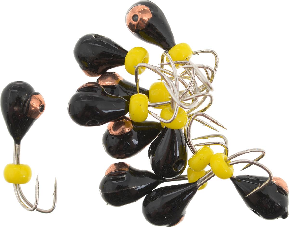 Мормышка вольфрамовая Dixxon Капля, с отверстием, с бисером, диаметр 4 мм, 0,95 г, 10 шт. 5939259392Мормышка Dixxon Капля изготовлена из вольфрама и оснащена двойным крючком. Главное достоинство вольфрамовой мормышки - большой вес при малом объеме. Эта особенность дает большие преимущества при ловле, так как позволяет быстро погрузить приманку на требуемую глубину и лучше чувствовать игру мормышки. Подходит для подледной ловли.
