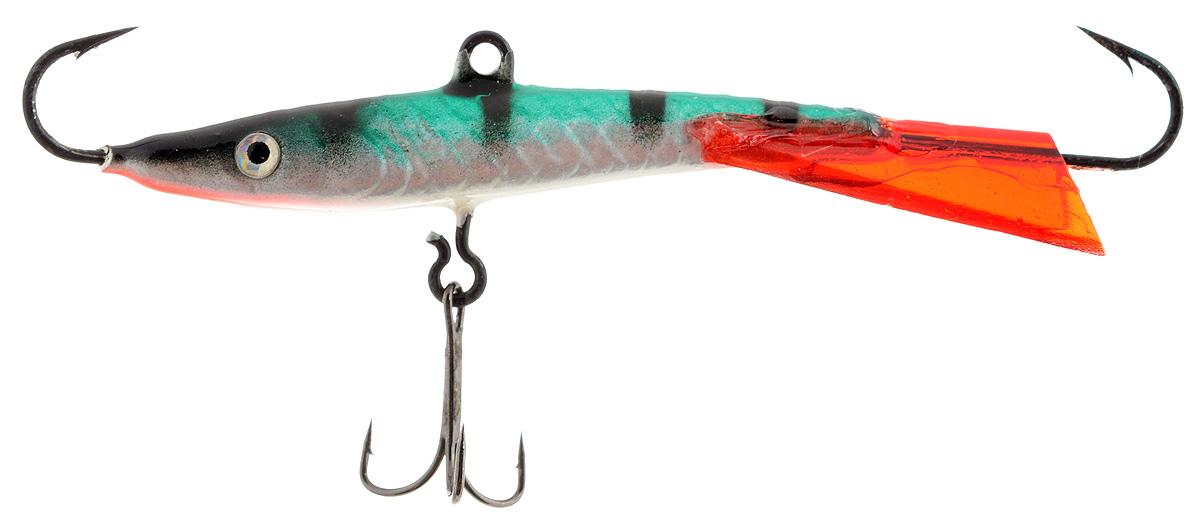 Балансир Finnex, длина 8 см, вес 15 г. BL-08-MST58611Балансир Finnex удлиненной формы с игрой широкого радиуса и наклонами на поворотах предназначен для ловли крупного окуня и щуки. Форма этого балансира напоминает мелкую рыбку. Балансир оснащен блестящим глазком, что делает его более заметным и позволяет привлечь рыбу с более дальнего расстояния. Изделие изготовлено из прочного свинцового сплава с элементами пластика.