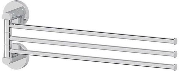 Держатель для полотенец Artwelle Harmonie, поворотный, тройной, 40 см. HAR 024409-006Торговая марка Artwelle принадлежит компании Santech Allianz Gmbh. Универсальный дизайн аксессуаров позволяет дополнить практически любой интерьер, а широкий ассортимент предоставляет свободу выбора. Надежность конструкции, профессиональное крепление и прочность покрытия позволяют использовать изделия не только в домашних условиях, но также и в общественных местах, включая отели. В производстве коллекций используются материалы высокого качества, что обеспечивает долговечность изделий.
