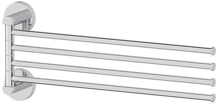 Держатель для полотенец Artwelle Harmonie, поворотный, четверной, 40 см. HAR 025PH6532Торговая марка Artwelle принадлежит компании Santech Allianz Gmbh. Универсальный дизайн аксессуаров позволяет дополнить практически любой интерьер, а широкий ассортимент предоставляет свободу выбора. Надежность конструкции, профессиональное крепление и прочность покрытия позволяют использовать изделия не только в домашних условиях, но также и в общественных местах, включая отели. В производстве коллекций используются материалы высокого качества, что обеспечивает долговечность изделий.
