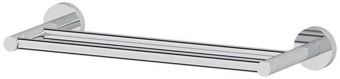 Держатель для полотенец Artwelle Harmonie, двойной, 40 см. HAR 029PH6532Торговая марка Artwelle принадлежит компании Santech Allianz Gmbh. Универсальный дизайн аксессуаров позволяет дополнить практически любой интерьер, а широкий ассортимент предоставляет свободу выбора. Надежность конструкции, профессиональное крепление и прочность покрытия позволяют использовать изделия не только в домашних условиях, но также и в общественных местах, включая отели. В производстве коллекций используются материалы высокого качества, что обеспечивает долговечность изделий.