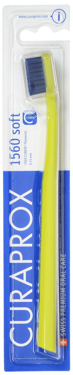 Curaprox Зубная щетка Soft, цвет: салатовый, диаметр 0,15 ммCS1560_салатовый