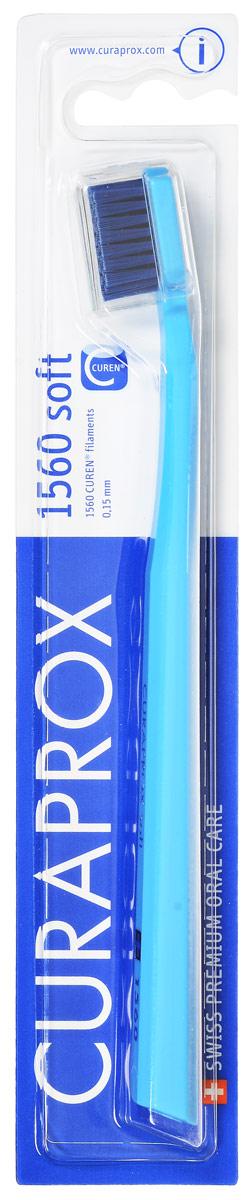 Curaprox Зубная щетка Soft, цвет: голубой, диаметр 0,15 ммCS1560_голубой