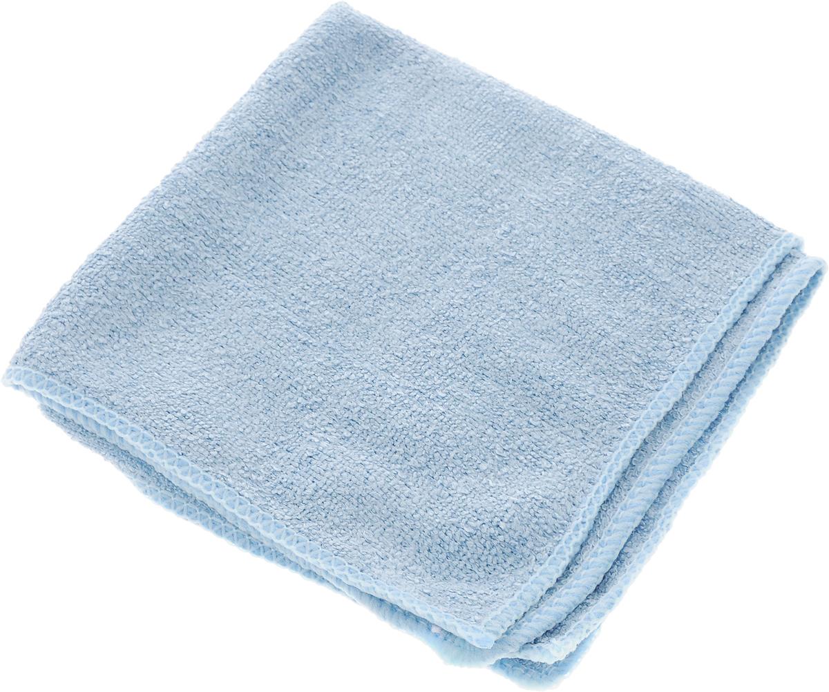 Салфетка для уборки Home Queen, цвет: серо-голубой, 30 х 30 см787502Салфетка Home Queen, изготовленная из полиамида и полиэфира, предназначена для очищения загрязнений на любых поверхностях. Изделие обладает высокой износоустойчивостью и рассчитано на многократное использование, легко моется в теплой воде с мягкими чистящими средствами. Впитывающая салфетка не оставляет разводов и ворсинок, идеальна для стеклянных и блестящих поверхностей, удаляет большинство жирных и маслянистых загрязнений без использования химических средств. Не царапает поверхность и впитывает гораздо больше воды, чем обычная ткань. Подходит для сухой и влажной уборки. Материал: 30% полиамид, 70% полиэфир.