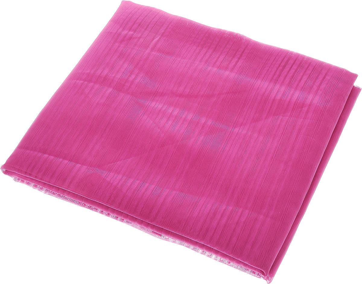 Тюль Garden, на ленте, высота 280 смS03301004Тюль Garden изготовлен из 100% полиэстера. Воздушная ткань привлечет к себе внимание и идеально оформит интерьер любого помещения. Полиэстер - вид ткани, состоящий из полиэфирных волокон. Ткани из полиэстера легкие, прочные и износостойкие. Такие изделия не требуют специального ухода, не пылятся и почти не мнутся.Крепление к карнизу осуществляется при помощи вшитой шторной ленты.
