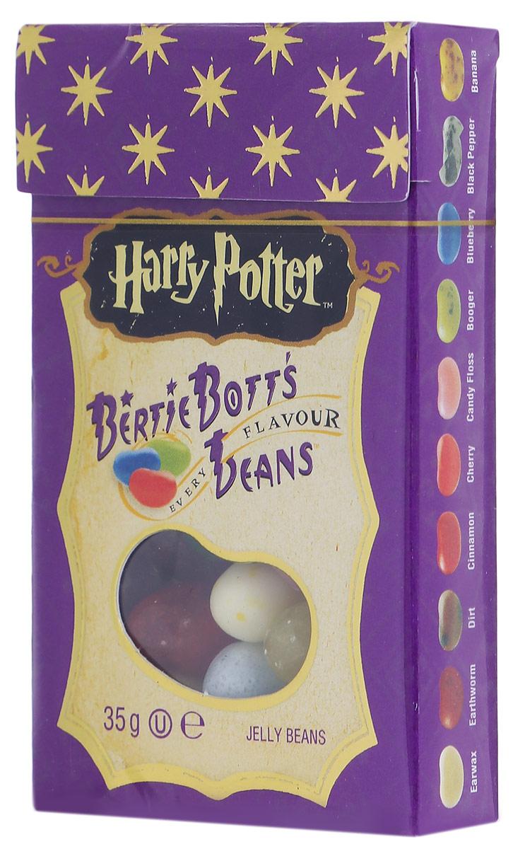 Jelly Belly Bertie Botts драже жевательное ассорти, 35 г71567998338Жевательное драже Jelly Belly Bertie Botts - это самые невероятные вкусы, собранные по всей волшебной вселенной Гарри Поттера. Ощутите себя ближе к любимым героям, почувствуйте атмосферу чародейства и волшебства вместе с Bertie Botts!Забавные желейные драже скрывают под цветной оболочкой следующие вкусы: банан, спелая вишня, свежескошенная трава, черный перец, вкус корицы, мыло, сосиска, зеленое яблоко, черника, грязь, лимон, мультифрут, сопли, земляные червяки, рвота, зефир, арбуз, ушная сера, сахарная вата, протухшее яйцо - невероятные вкусы конфет Гарри Поттера способны удивительным образом оживить любую компанию друзей или родных, подняв настроение и превратив обычный вечер в невероятно яркое, надолго запоминающееся веселое событие!Уважаемые клиенты! Обращаем ваше внимание, что полный перечень состава продукта представлен на дополнительном изображении.