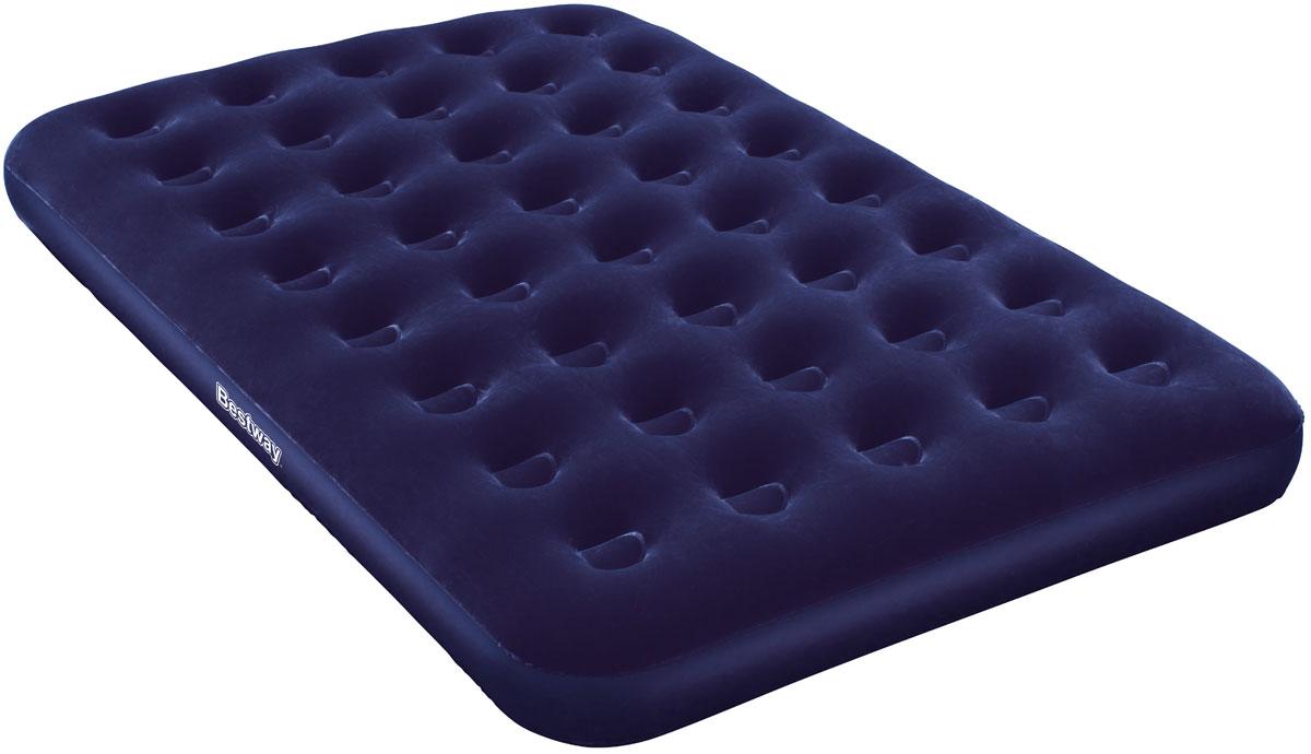 Bestway Матрас надувной Twin PlusKOCAc6009LEDКомфортное флоковое покрытие. Легкое и быстрое сдувание и надувание. Подходит для использования в помещении и на улице. Изготовлено из полимерных материалов. Размер матраса: 1,93 х 1,22 х 0,22 м.
