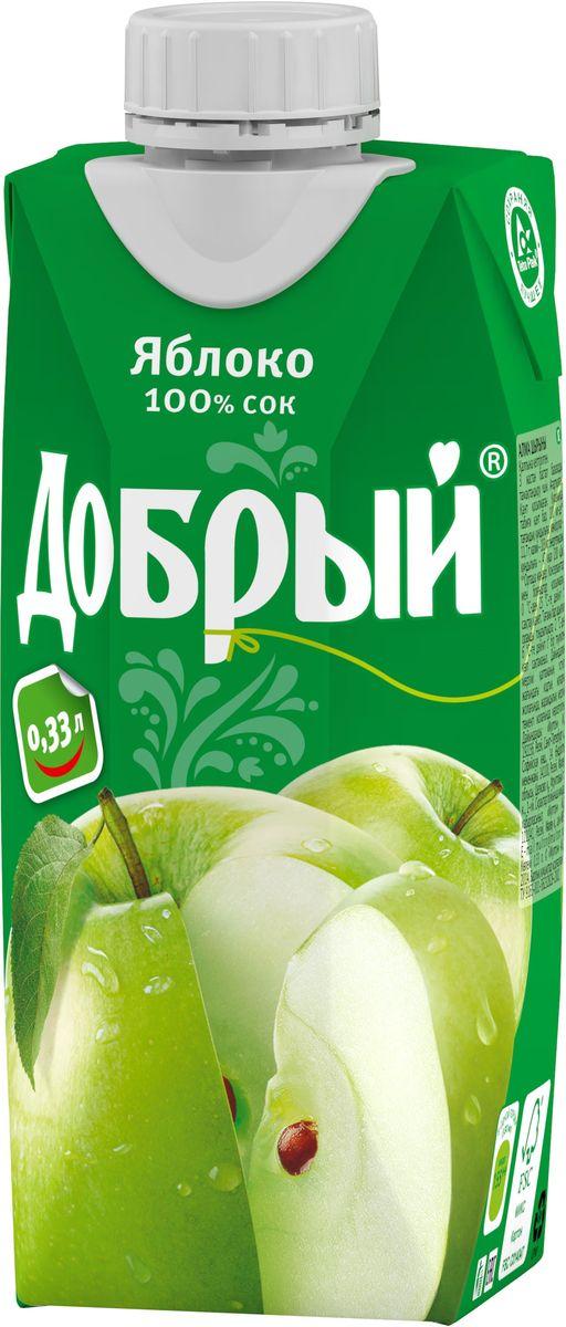 Добрый Яблочный сок, 0,33 л бренд булгари
