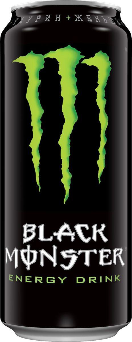 Black Monster энергетический напиток, 0,5 л0120710Ворвись в банку нового Black Monster, который родился в США и распространяется по всей планете.Мы отправились в лабораторию и создали хардкорный энергетический напиток специально для наших фанатов в России.Это оригинальная комбинация правильных ингредиентов в правильных пропорциях в Monster стиле.Black Monster - это бодрящий удар, насыщенный мягким вкусом.Спортсмены, музыканты, студенты, гонщики, металлисты, хипстеры и байкеры просто тащатся от него. Зацени сам!