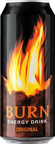 Burn Original энергетический напиток, 0,5 л101246Burn - это источник энергии для активной жизни 24/7. В состав Burn входят три важных компонента - кофеин, таурин и гуарана, которые помогают снизить усталость, поддерживают работоспособность и концентрацию внимания. Burn - энергетический напиток, который позволяет постоянно находиться в движении, все успевать, быть в курсе самых жарких событий, творить, выдумывать, пробовать. Это энергия в новом формате в любое время от рассвета до рассвета!