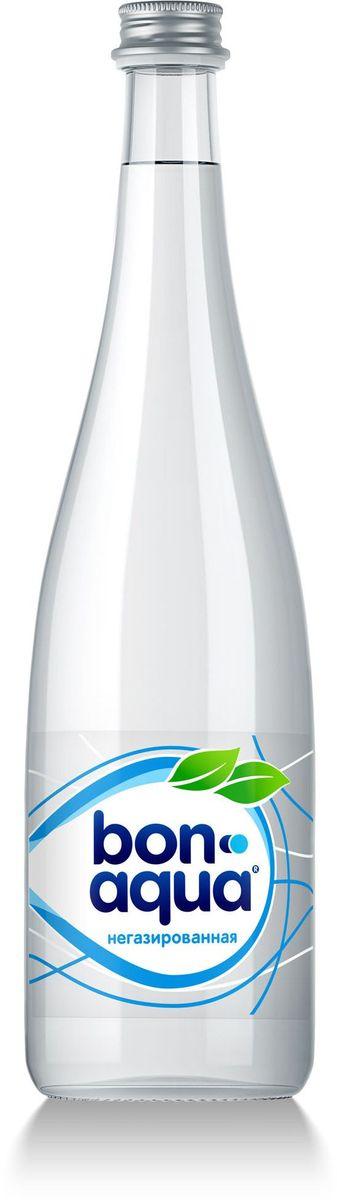 BonAqua Вода чистая питьевая негазированная, 0,75 л0120710BonAqua - это кристально чистая питьевая вода, высокого качества.BonAqua - известная и любимая в России марка. Производство воды Bon Aqua началось в Германии в 1988 году. В России запуск питьевой воды Bon Aqua был успешно осуществлен в 1994 году.BonAqua проходит 7-ми ступенчатую систему очистки и водоподготовки. Производится в строгом соответствии с высочайшими стандартами качества компании Coca-Cola. Содержит минеральные элементы (Ca, Mg). Обладатель золотой медали в категории Бутилированная вода выставки Вода: экология и технология (ЭКВАТЭК) .В России BonAqua 6 раз признавалась Товаром Года.