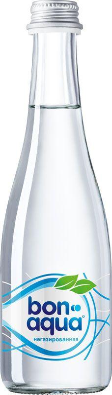 BonAqua Вода чистая питьевая негазированная, 0,33 л00000000143BonAqua - это кристально чистая питьевая вода, высокого качества.BonAqua - известная и любимая в России марка. Производство воды Bon Aqua началось в Германии в 1988 году. В России запуск питьевой воды Bon Aqua был успешно осуществлен в 1994 году.BonAqua проходит 7-ми ступенчатую систему очистки и водоподготовки. Производится в строгом соответствии с высочайшими стандартами качества компании Coca-Cola. Содержит минеральные элементы (Ca, Mg). Обладатель золотой медали в категории Бутилированная вода выставки Вода: экология и технология (ЭКВАТЭК) .В России BonAqua 6 раз признавалась Товаром Года.