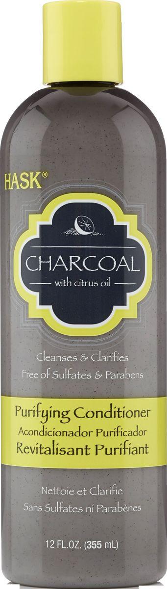 HASK Очищающий кондиционер с углем и цитрусовым маслом, 355 мл10768Очищающий кондиционер с углем и цитрусовым маслом помогает очистить загрязнения, делая волосы шелковистыми, послушными и готовыми к укладке. Достаточно мягкий для ежедневного использования и безопасный для окрашенных волос.