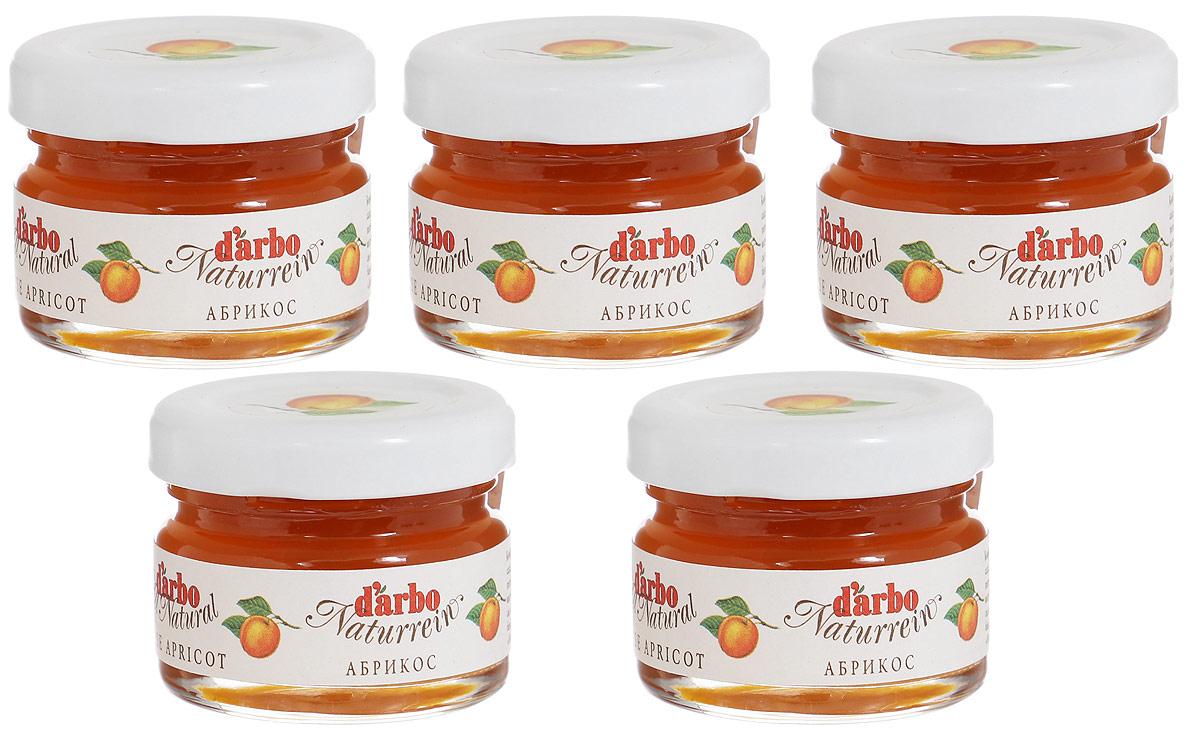 Darbo конфитюр абрикос, 5 шт по 28 г0120710Абрикос помогает при авитаминозах, анемии, так как содержащиеся в нем вещества воздействуют на процесс кроветворения. Этот фрукт способствует повышению сопротивляемости организма к различным болезням и восстановлению жизненно необходимых функций организма.В 1879 году Рудольф Дарбо основал предприятие, которое стало одним из самых успешных в Австрии - A. Darbo AG в Тироле.Конфитюры Darbo экспортируются более чем в 40 странах мира. По всему миру Darbo гарантирует высокое качество конфитюров, меда и компотов. Для Darbo используются только свежие фрукты и ягоды из самых лучших регионов мира. Компания покупает розовые абрикосы в Венгрии, киви - в Новой Зеландии, черную вишню - в Швейцарии, бузину - в Сирии и клюкву - в Швеции.Уважаемые клиенты! Обращаем ваше внимание, что полный перечень состава продукта представлен на дополнительном изображении.