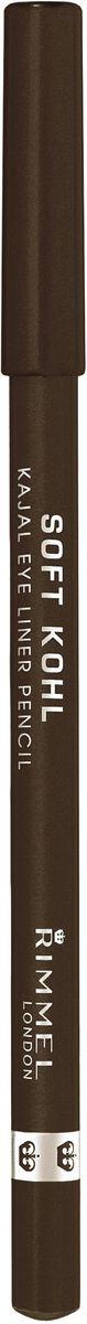 Rimmel Контурный карандаш для глаз Soft Kohl Kajal, тон № 011, 1,2 г34007210011Необычайно мягкий и одновременно стойкийЛегко наносится и растушевывается, для естественного результатаНежный кремовый состав позволяет подчеркнуть внутреннее веко