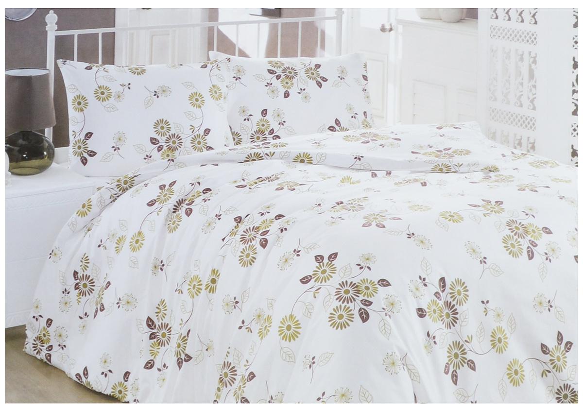 Комплект белья Brielle Ranforce, 2-спальный, наволочки 50х70. 1109-84902CA-3505Комплект постельного белья Brielle Ranforce, выполненный из ранфорса (100% хлопка), состоит из пододеяльника, простыни и двух наволочек.Хлопковая ткань является одной из гипоаллергенных и прочных тканей, хорошо пропускает воздух, впитывает пары влаги, она мягкая, отлично стирается и гладится и плюс ко всему не такая дорогая, как натуральный шелк. Приобретая комплект постельного белья Brielle Ranforce, вы можете быть уверены в том, что покупка доставит вам и вашим близким удовольствие и подарит максимальный комфорт.