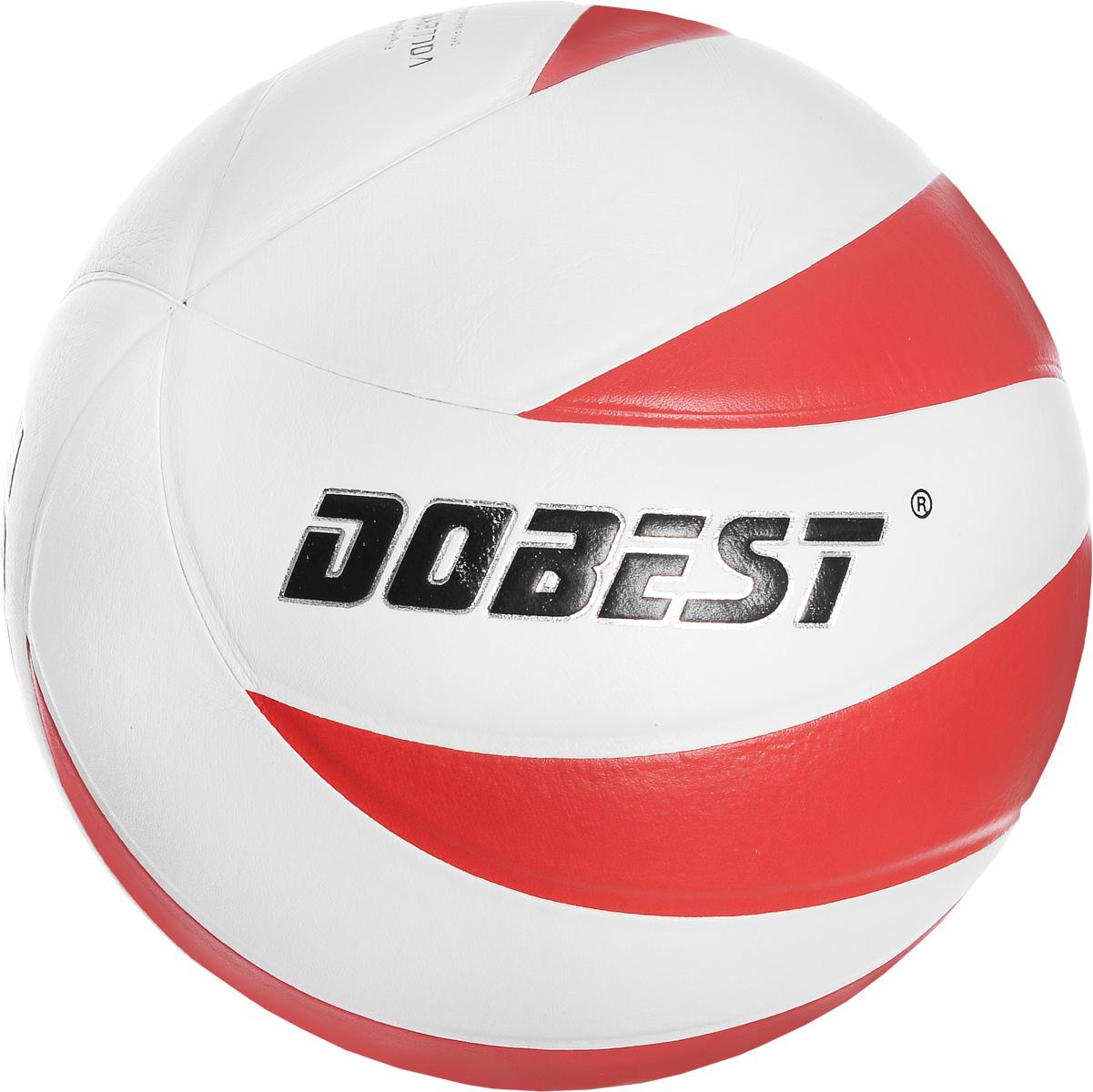 Мяч волейбольный Dobest V5-SU028R-12. Размер 528262076Волейбольный мяч Dobest V5-SU028R-12 подойдет для любительской игры на улице и в зале. Изделие выполнено из прочной синтетической кожи, камера - резина. Панели клееные.Количество панелей: 12.Количество слоев: 4.Вес: 260-280 г.УВАЖЕМЫЕ КЛИЕНТЫ!Обращаем ваше внимание на тот факт, что мяч поставляется в сдутом виде. Насос не входит в комплект.