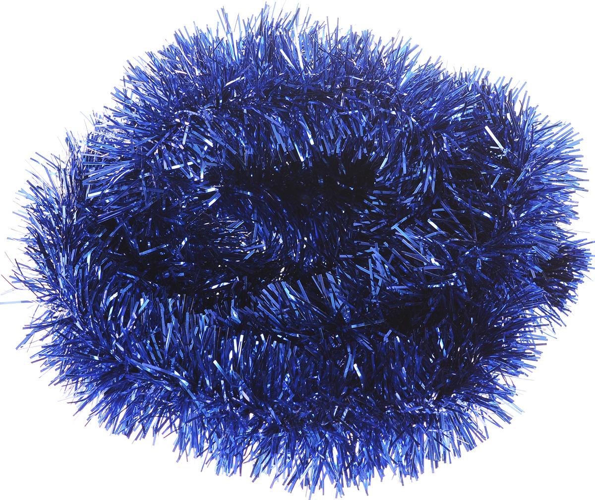 Мишура новогодняя House & Holder, цвет: синий, диаметр 4 см, длина 200 смCHL-320SNМишура новогодняя House & Holder поможет вам украсить свой дом к предстоящим праздникам. Новогодняя елка с таким украшением станет еще наряднее. Новогодней мишурой можно украсить все, что угодно - елку, квартиру, дачу, офис - как внутри, так и снаружи. Можно сложить новогодние поздравления, буквы и цифры, мишурой можно украсить и дополнить гирлянды, можно выделить дверные колонны, оплести дверные проемы.