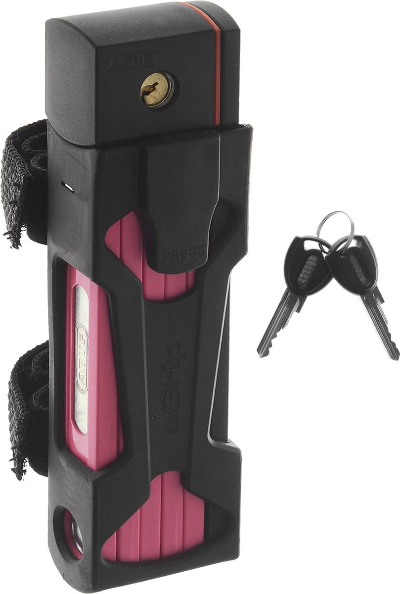 Велозамок Abus Bordo uGrip 5700/80, с ключами, длина 80 смMW-1462-01-SR серебристыйНадежный сегментный замок Abus Bordo uGrip 5700/80 объединяет лучшие качества U-замков и цепей - надежность и гибкость. Стальные пластины соединены шарнирами и двигаются относительно друг друга. Достаточная длина для крепления к неподвижному объекту, а также нескольких велосипедов между собой.Особенности:- 5-мм стальные пластины соединены шарнирами и движутся относительно друг друга;- замок компактно складывается для удобной транспортировки в чехле на раме;- чехол в комплекте;- крепление.Технические характеристики:Вес: 830 г.Длина: 80 см.Толщина: 5 мм.Тип замка: Английский односторонний.Количество ключей в комплекте: 2 шт.
