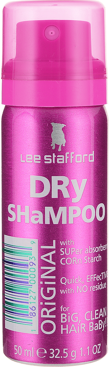 Lee Stafford Сухой шампунь для волос Poker Straight, 50 мл lee stafford шампунь для вьющихся волос here come the curls 250 мл