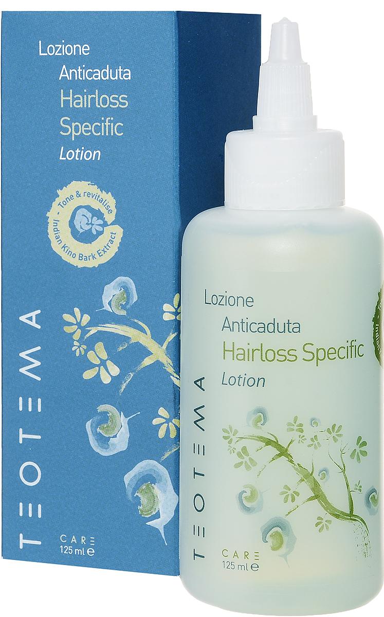 Teotema Лосьон против выпадения волос 100 мл071-02-1806Лосьон, благодаря высокоэффективной обогащенной формуле, глубоко проникает в кожу головы, предотвращая выпадение волос и стимулируя их рост. Волосы восстанавливаются изнутри, улучшается кровообращение, увлажняется кожа головы. Активными компонентами являются: пантенол (провитамин B5), укрепляющий кожу головы и волосы, стимулирующий восстановление клеток, обеспечивающий волосам эластичность и препятствующий их сечению; тысячелистник обыкновенный, бережно удаляющий загрязнения и придающий волосам шелковистость и блеск; PEG/PPG – 2015 диметикон – это форма силикона с увлажняющими и кондиционирующими свойствами.